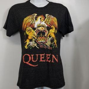 Queen tshirt heathered black sz S